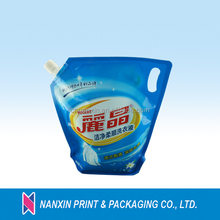 3.5L laundry detergent packaging bag doy pack bags