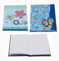 3D Cover Promotional Notebook,cardboard cover notebook