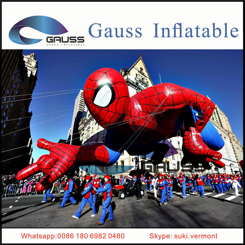 hot sale giant Inflatable spiderman/inflatable advertising cartoon