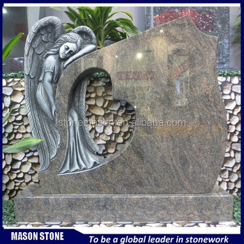 High quality cemetery weeping angel monuments statue wholesale