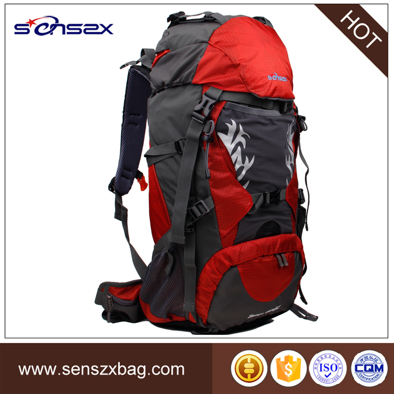 Solid color fashion backpack for high school students outdoor products backpack