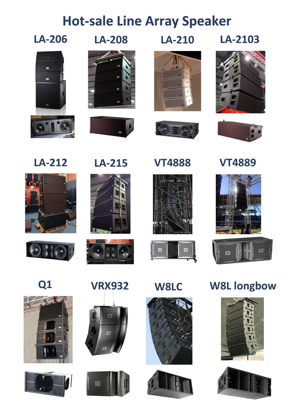 compensato armadio line array