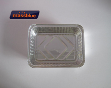 Disposable Food Packaging Lunch Box Aluminium Foil Container