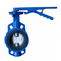 Price Sanitary Wafer Type Butterfly Valve