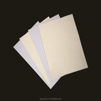 opaque printing glossy white pvc rigid plastic sheet for playing cards