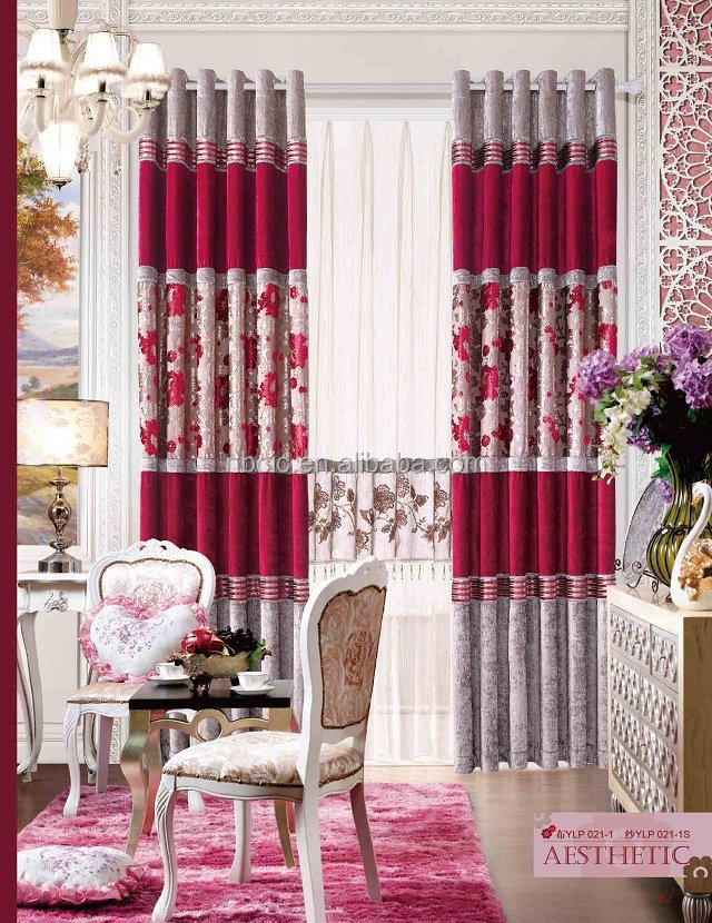 2014 window cotton curtain
