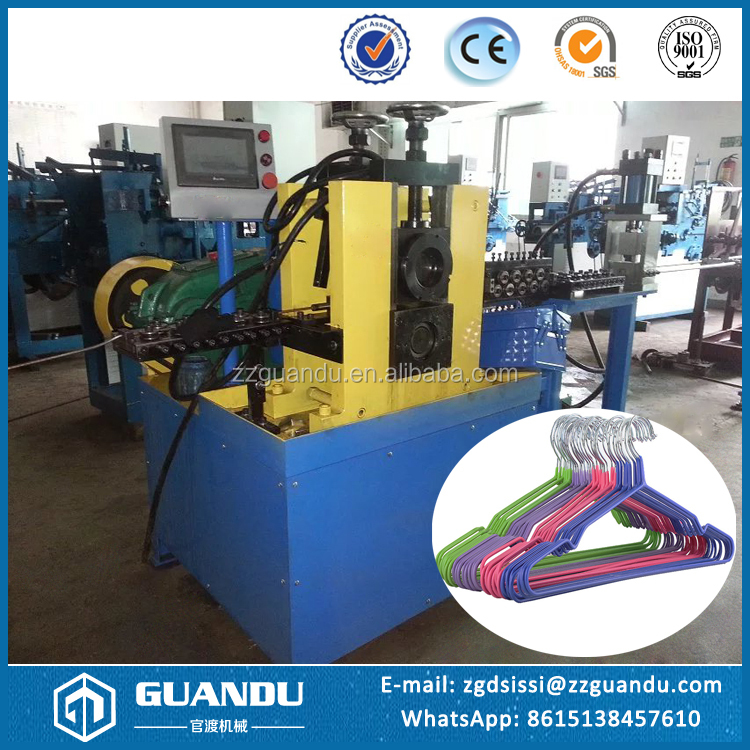High quality wire hanger forming machine / cloths hanger making machine