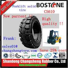 Contemporary Cheapest press-on solid forklift tire