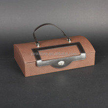 Trading Assurance luxury pu leather wine bottle carrier