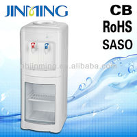 5 gallon refrigerator water cooler with steel pipe Hot and Cold round electric cooler