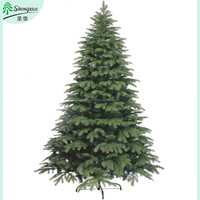 120cm-210cm-300cm artificial christmas tree PE mixed PVC holiday tree