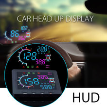 Newest Technology OBD-II HUD Tire Pressure Plate Car Head Up Display 2017 For Universal Car Models
