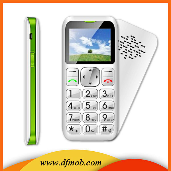 Low Cost Big Button 1.8 Inch GSM GPRS/WAP MTK6261M Single SIM SOS Flip Senior Phone For Elder T06