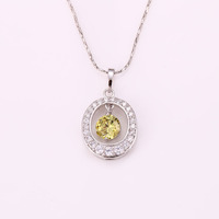 Xuping FashioJewelry high quality Jewelry Rhodium color gold plated Charm Pendant new design for women
