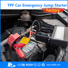 TPF mini portable 12 voltage emergency tool kit type car power bank jump starter