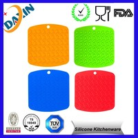 Factory made Kitchenware Heat Resistant Silicone Pot pan holder
