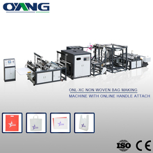 Low Noise China factory non woven shopping bags making machine price