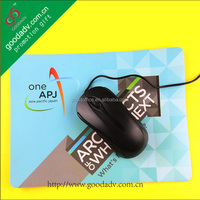 Factory promotion product customized eva mousepad/eva mouse mat