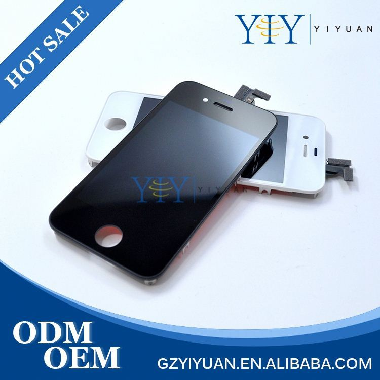YiY Best Quality Wholesale Price Digitizer Glass Lcd Touch Screen For Iphone 4S 5S