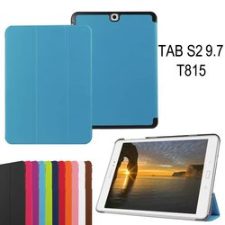 CY Karst Pattern Slim 3- Folding Leather Case Cover Skin For Samsung Galaxy Tab S2 9.7 T810 T815