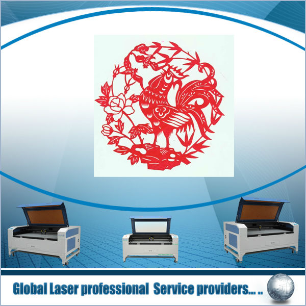 Laser cutting and engraving for leather, cloth, wood,double heads laser cutter,Wooden Toys Making Equipment