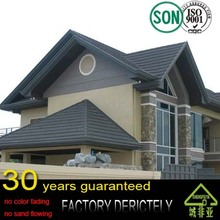 chengfeiya china famous brand Hotsale nosen colorful stone coated metal roof tile, steel roof tile