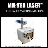 Wide selection 10W CO2 laser engraving machine for clothing