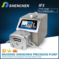 Peristaltica low pulsation pump DY25,Shenchen pump IF3