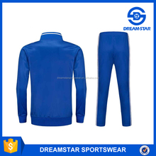 Young Adult Blue Soccer Jackets/Blank Tracksuits