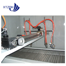 Automatic painting machine and metal coating line