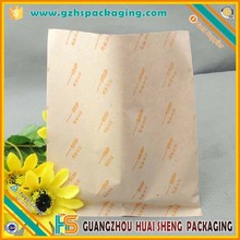Custom design hot dog donut fast food packaging paper bags with your logo printing