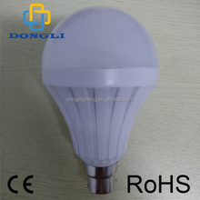 High quality factory price 5w/7w/9w/12w emergency led bulb, intelligent rechargeable led emergency bulb 220V E27/B22 wiht ce roh
