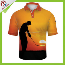 Soft-touch Mens Dri Fit High Quality Golf Polo Shirts Wholesale With Customized Logo