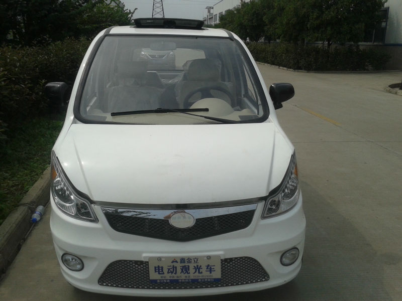 good quality 4 persons electric car sale price