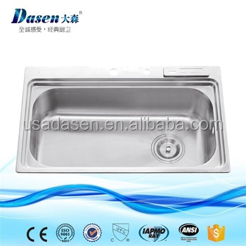 DS8050malaysia kitchen weight bathroom stainless steel sink stand