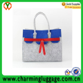 popular fashion felt shpping bag for shopping