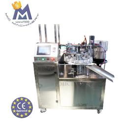 MIC exported to Iran high viscosity cyanoacrylate adhesive super glue filling capping machine