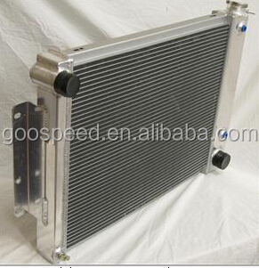 3 Rows Full Aluminum Radiator for CHEVY CAMARO 68-69