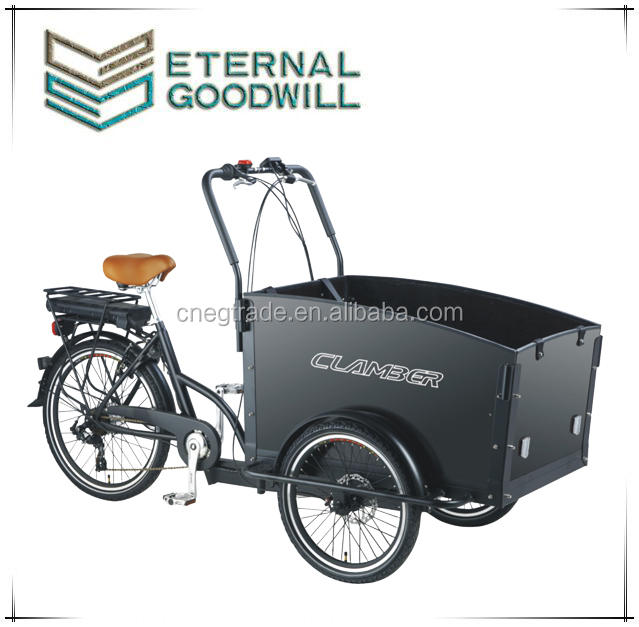 2015 hot sale CE certification adult cargo tricycle china/electric three wheel cargo bike for sale/Cargo Tricycle UB9031E-6S