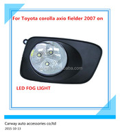Auto led fog lamp for Toyota corolla axio fielder 2007 ON quality