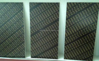 18mm black film faced plywood for construction/concrete formworking from china direct factory