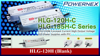 [ PowerNex ] Mean Well HLG-120H-12 (120W 12V 10A) HLG Series, High Efficiency with PFC LED Power Supply LED Driver