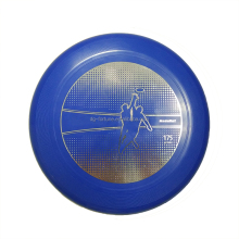 Wholesale 12 inch Bronzing printing Plastic Frisbee,flying disc for professional sports game