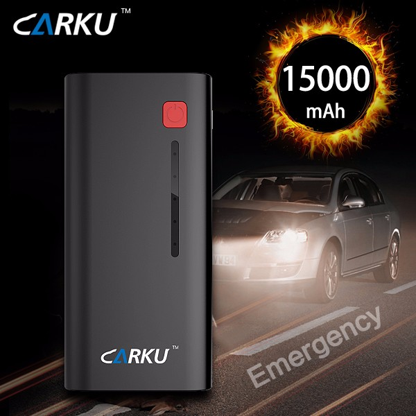 Hot selling carku jump start 12v car battery booster with CE, FCC, RoHs ceritificates