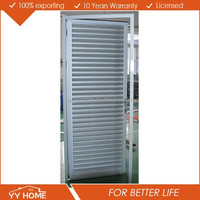 YY Home used building materials prefabricated house aluminium air vent window|removable shutters