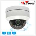 IP PTZ Camera Easy to install with Tray support Built in POE Inddor outdoor IR View Mini Video Camera