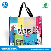 Fugang Vietnam Recycled Polypropylene PP Woven Laminated Shopping Bags