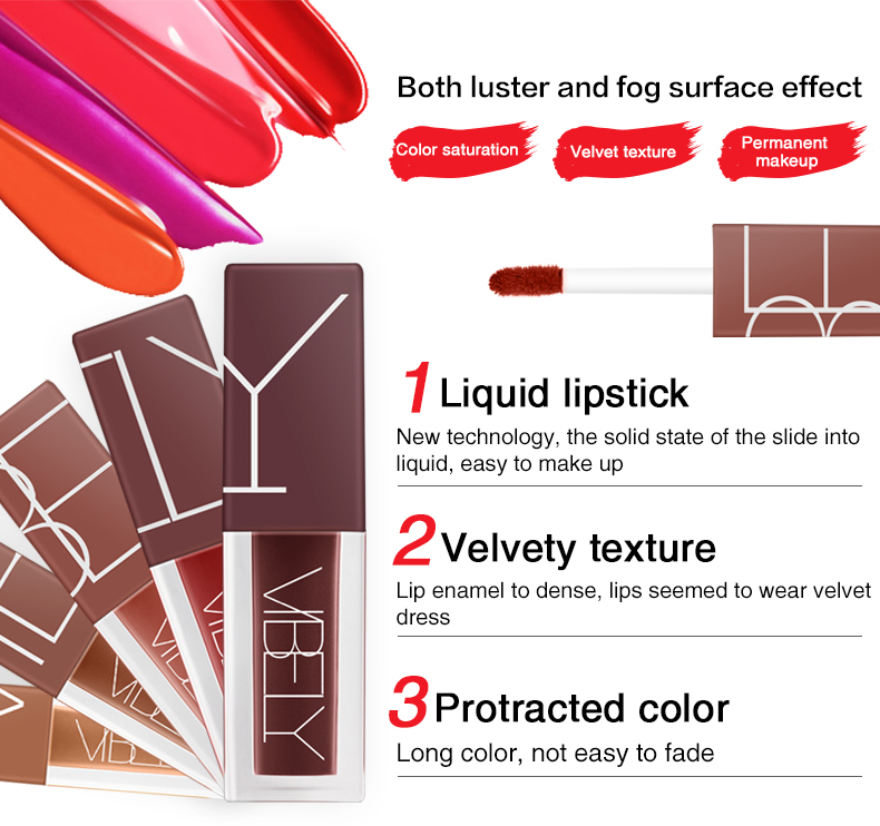 Wholesale Makeup Glitter Lipgloss Container Manufacturer OEM Lipgloss Private Label