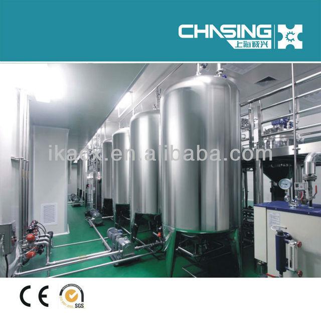 cosmetics, chemicals sanitary storage tank; 316 stainless steel water tank