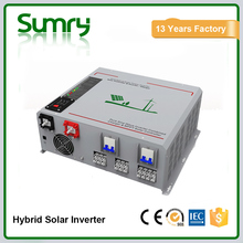 High mppt efficiency 95% solar power inverter with battery charge 3000w